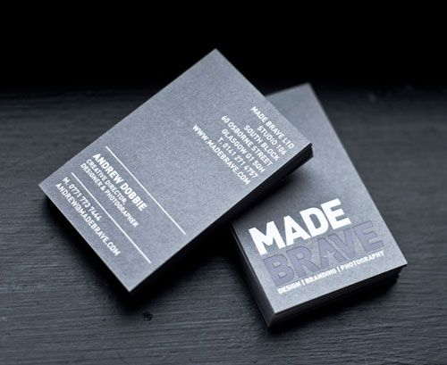 62 cool examples of big typography in business card design 62 cool examples of big typography in business card design reheart Images