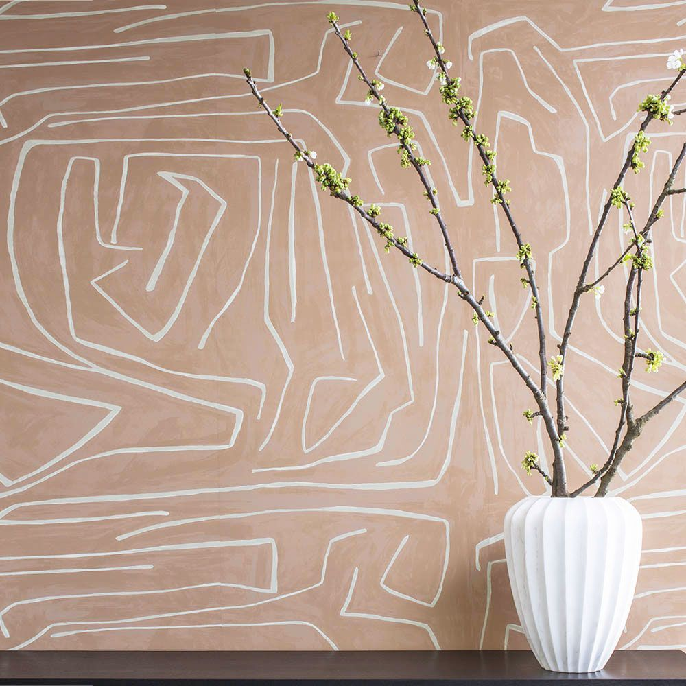 Interior wallpaper samples - Gorgeous Wallpaper Design Subtle Yet Immensely Impactful