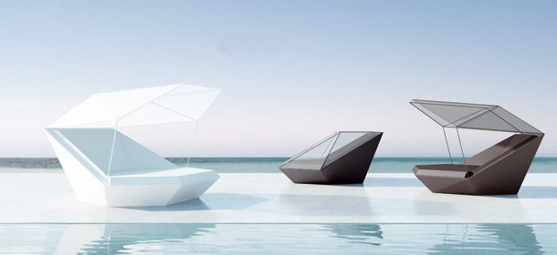Daybed by Ramón Esteve, an elegant and confortable bed, for VODOM