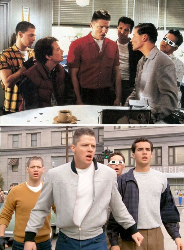Biff And His Gang In Back To The Future Costume Designer