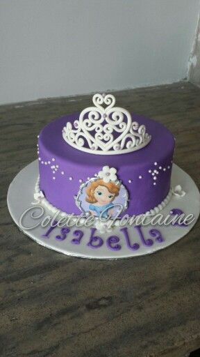 Sophia the first girls birthday cake Cake Designs Pinterest