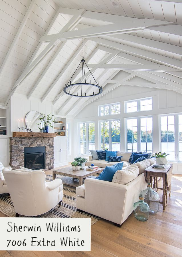 lake house blue and gray paint colors coastal living on lake house interior color schemes id=64661