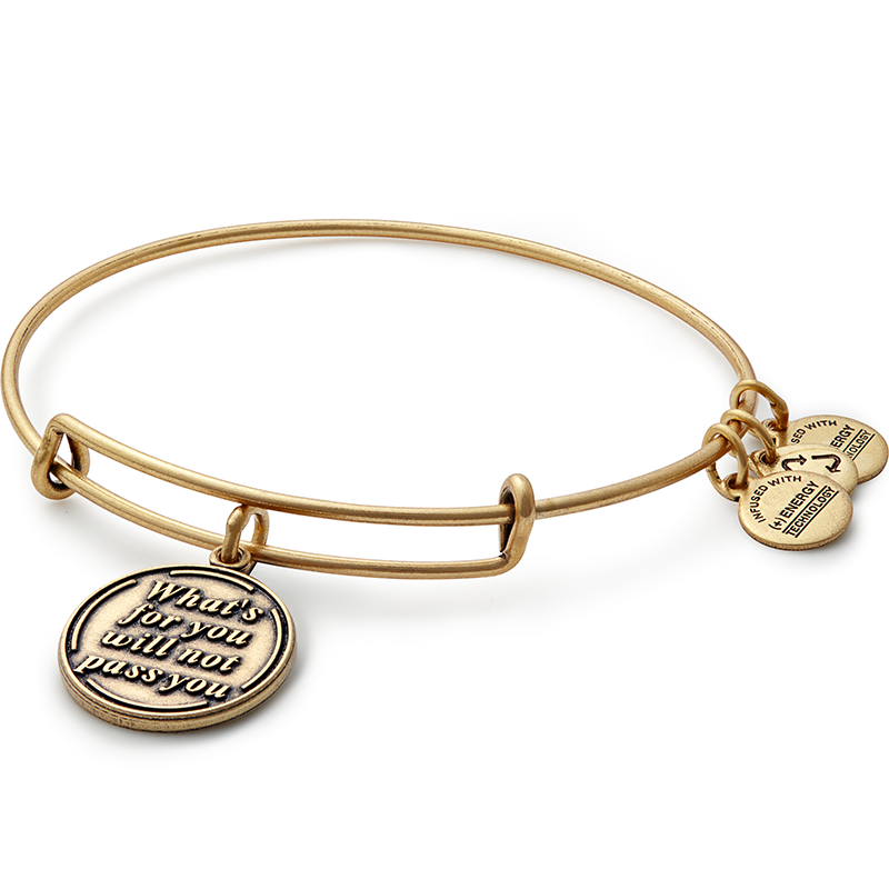 305f28a070b8c What Is for You Will Not Pass You Charm Bangle | Arm Candy | Bangle ...