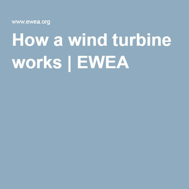 How a wind turbine works | EWEA