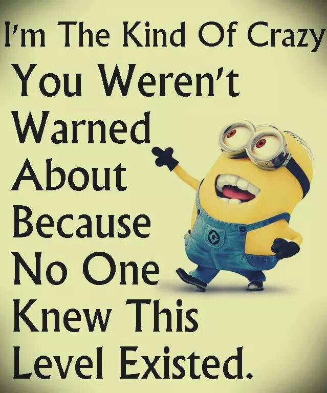 Humorous Quotes No One Knew This Level Existedhehe  Minions Banahaha