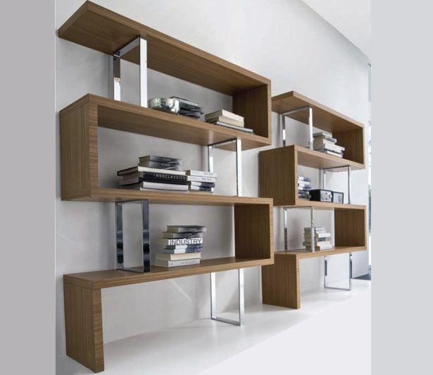 Imagen estanterias madera modernas 1 del artículo ideas y ...