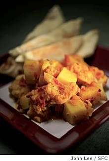 Aloo Gobi you can easily make at home! (And it is good.) Just be sure to include the spice garam masala it is really key to getting that special aloo gobiness. Recipes — SFGate Food & Wine