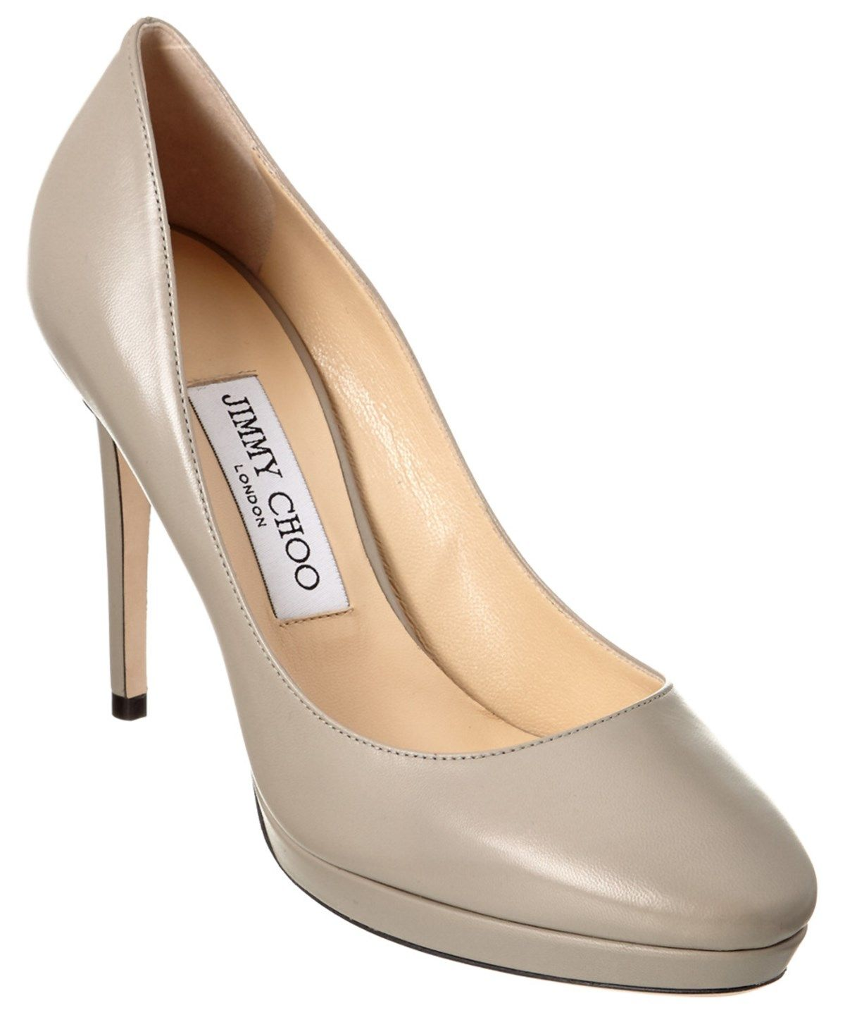 bcad77329cf7 JIMMY CHOO JIMMY CHOO HOPE 100 KID LEATHER PETITE LATFORM PUMP .  jimmychoo   shoes  pumps   high heels