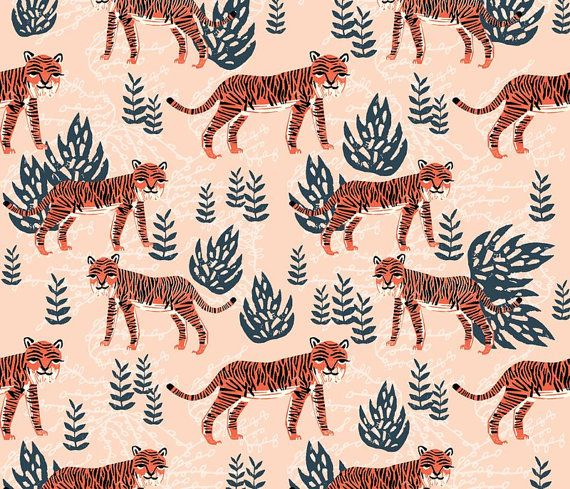 fitted crib sheet in safari tiger print, organic crib sheet, cotton crib sheet, mini crib sheet, toddler sheet, cosleeper sheet