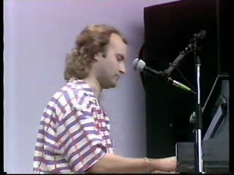 Phil Collins Against All Odds Live Aid 1985 London England