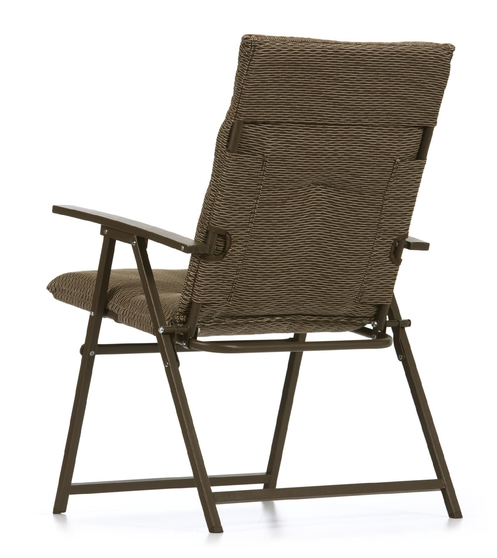 Outdoor Padded Folding Chairs With Arms Outdoor rocking