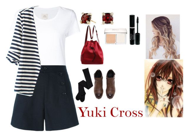 """""""Yuki Cross"""" by charbear231 ❤ liked on Polyvore featuring Max 'n Chester, Étoile Isabel Marant, WithChic, David Yurman, Christian Dior, Yuki, women's clothing, women, female and woman"""