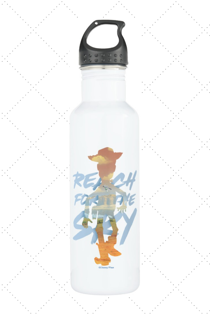 Personalized Toy Story Buzz Lightyear Water Bottle Gift