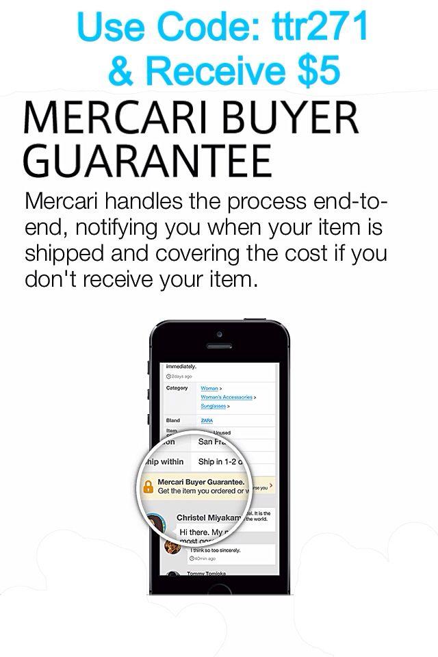 Mercari enter code