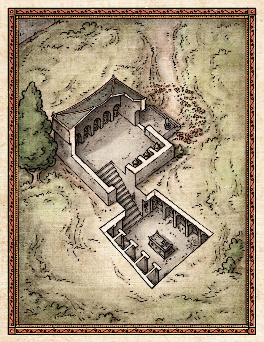 its a tiny dungeon    itty bitty | D&D Maps | Fantasy map