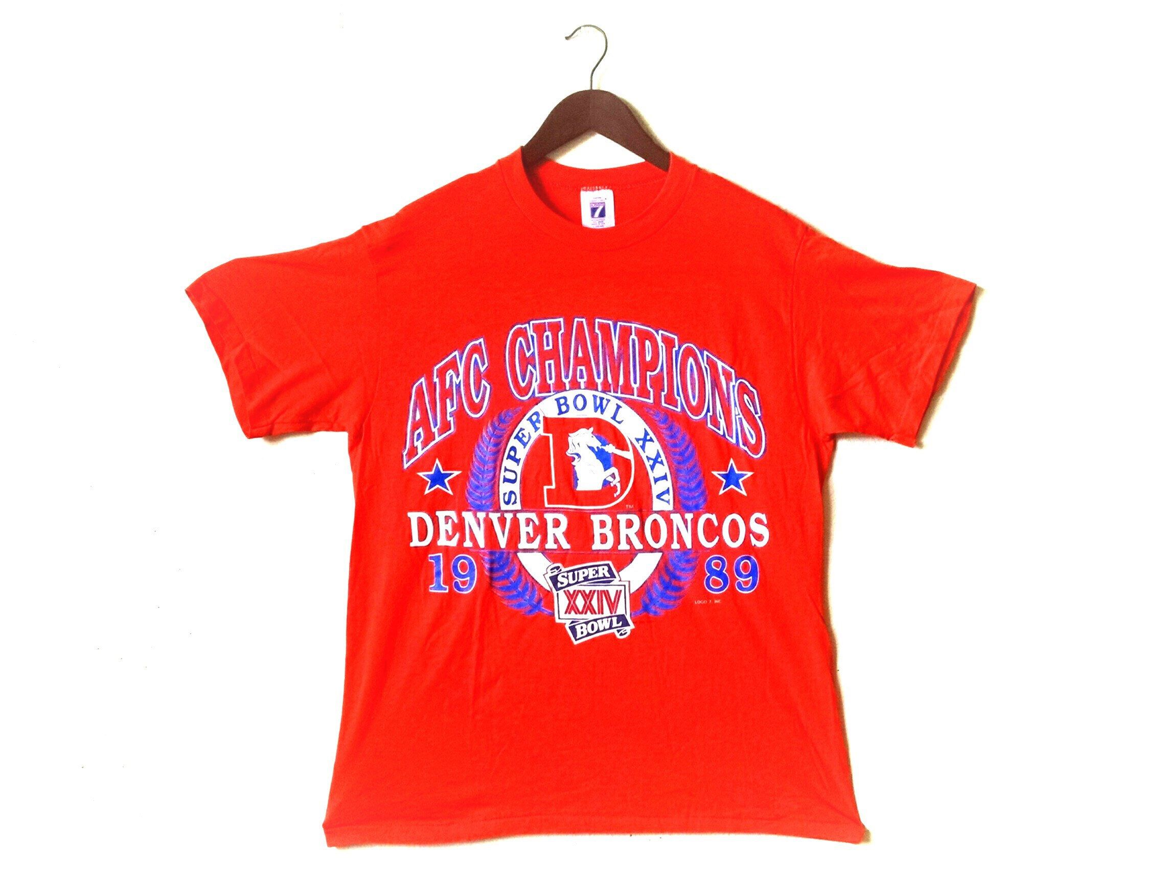 denver broncos afc championship shirts