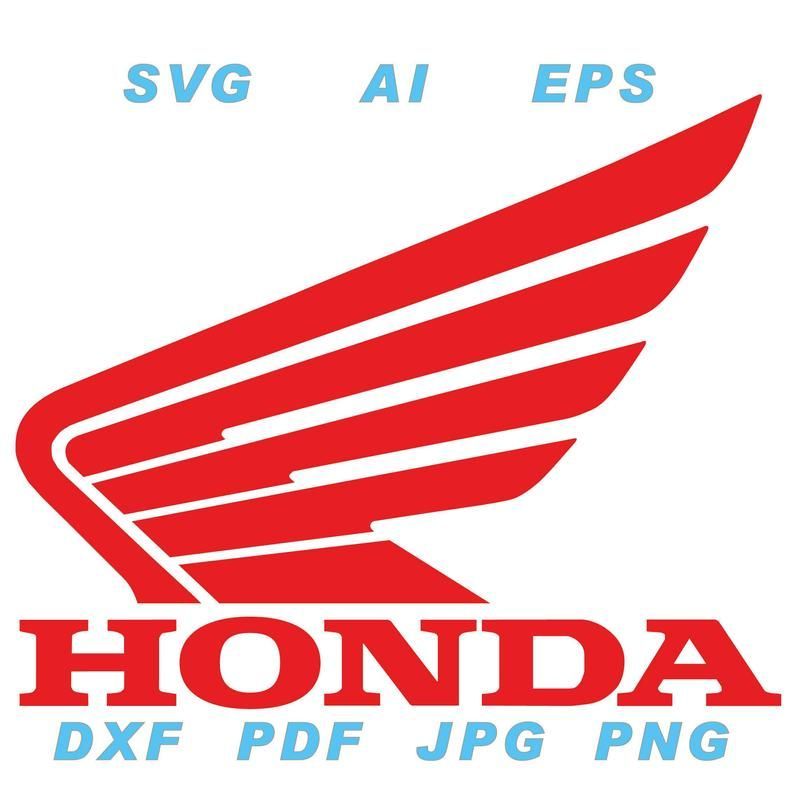 Logotipo De Honda Motorcycle Ai Svg Eps Png Jpg Pdf Dxf