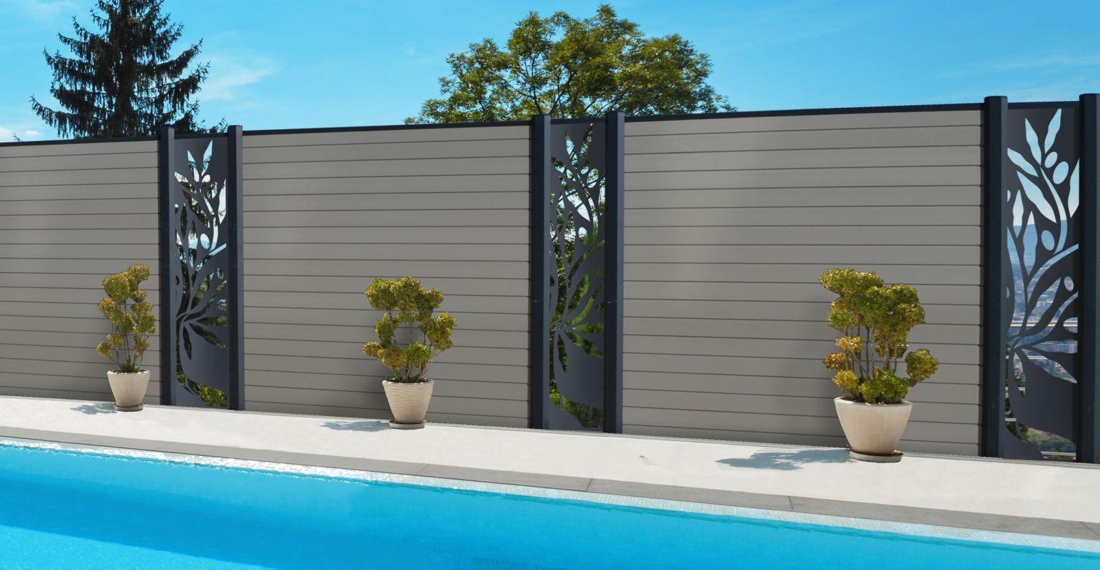 Daniel Moquet Signe Vos Clotures Entreprise De Portail Cloture Et Pergola Deco Mur Exterieur Jardin Decoration Mur Exterieur Mur Exterieur