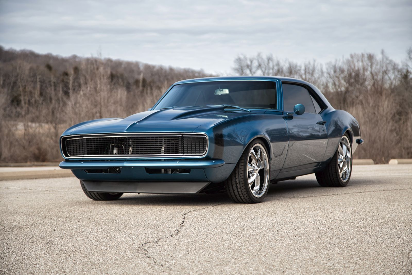 Pics photos chevrolet camaro resto mod for sale - 1968 Camaro Rs Ss Pro Touring Restomod 4 Whl Disk See More On