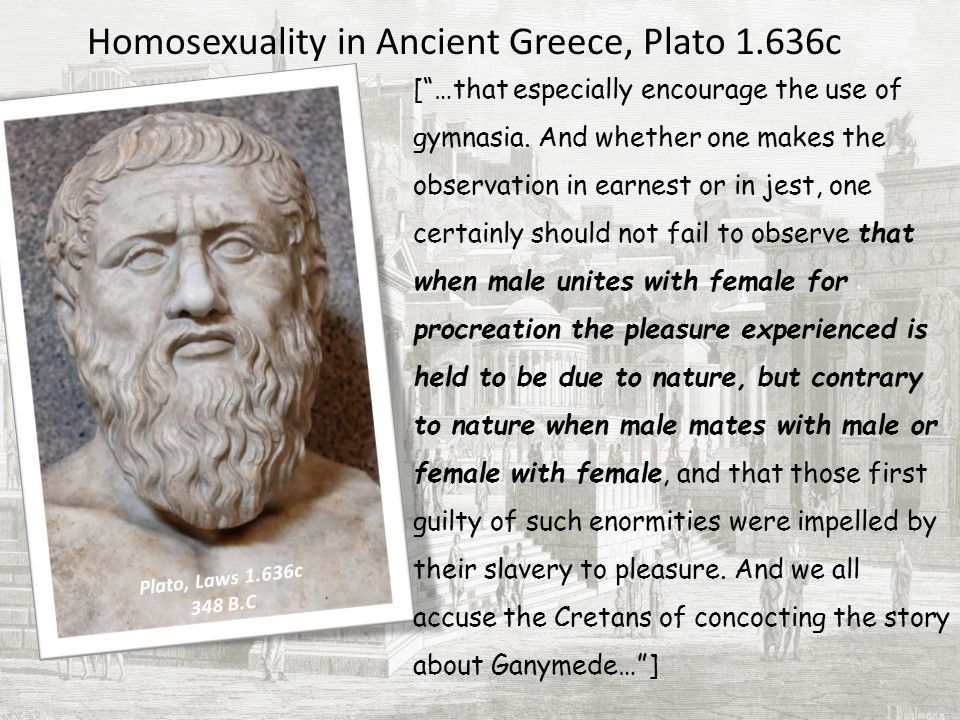 Homosexuality ancient greece myth collapsing