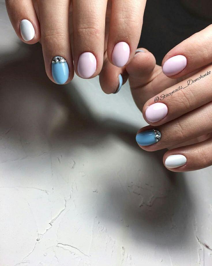 50 Nail Art Designs For Very Short Nails 2018 Art Design Nails
