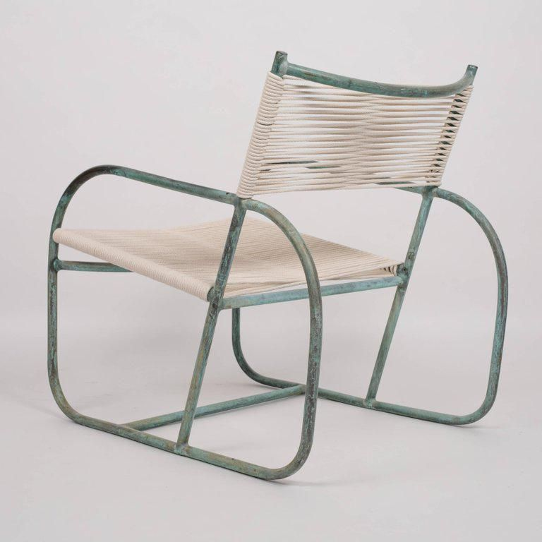 Early Model Walter Lamb Lounge Chair Small Chair For