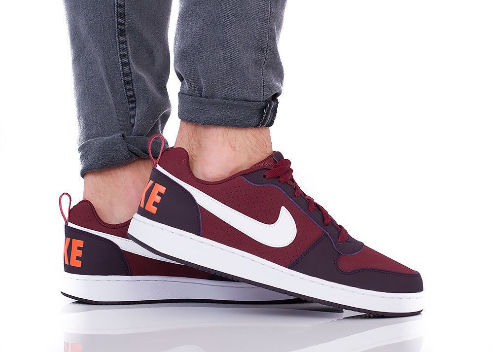 Nike Court Royal Suede Borough Low Classic Men's Sneaker Red cherry Shoes  new #Nike #