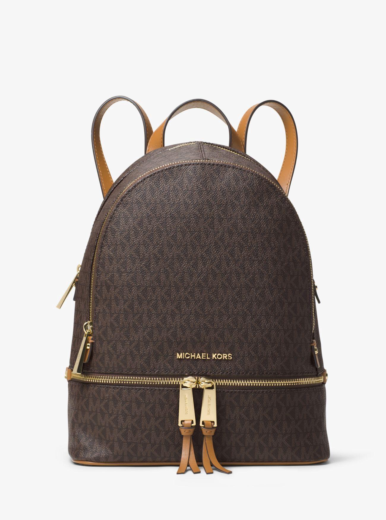 13fc970462 Michael Kors Rhea Medium Backpack - Vanilla in 2019   Products ...