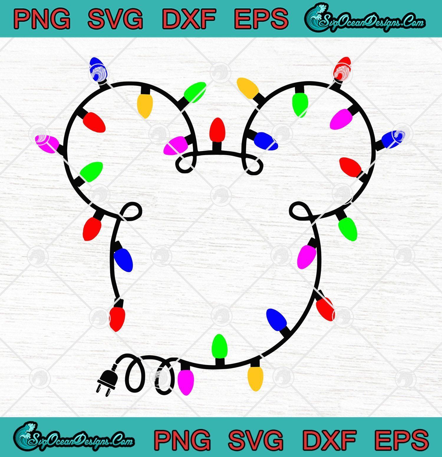 Download Christmas Disney Mickey Headlights Svg Png Eps Dxf Cricut ...