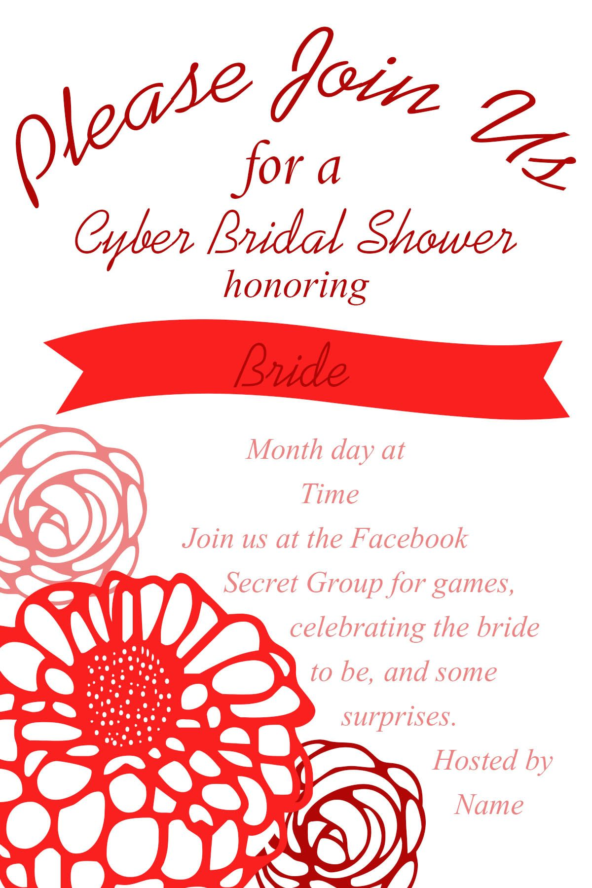 How To Host A Cyber Bridal Shower