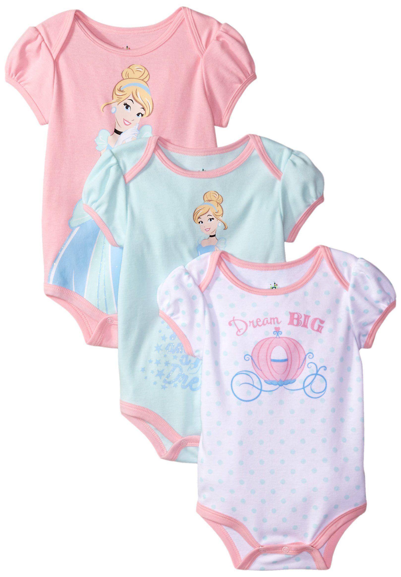 9680a57382d5 Disney Baby-Girls Cinderalla Bodysuit