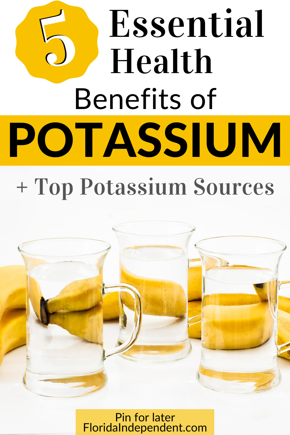 5 Essential Health Benefits of Potassium in 2020 Mom