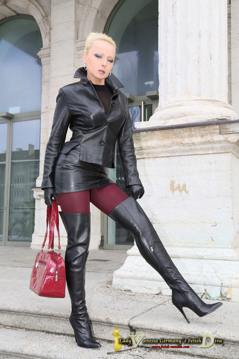 Lady vanessa avanessa pinterest leather high boots and