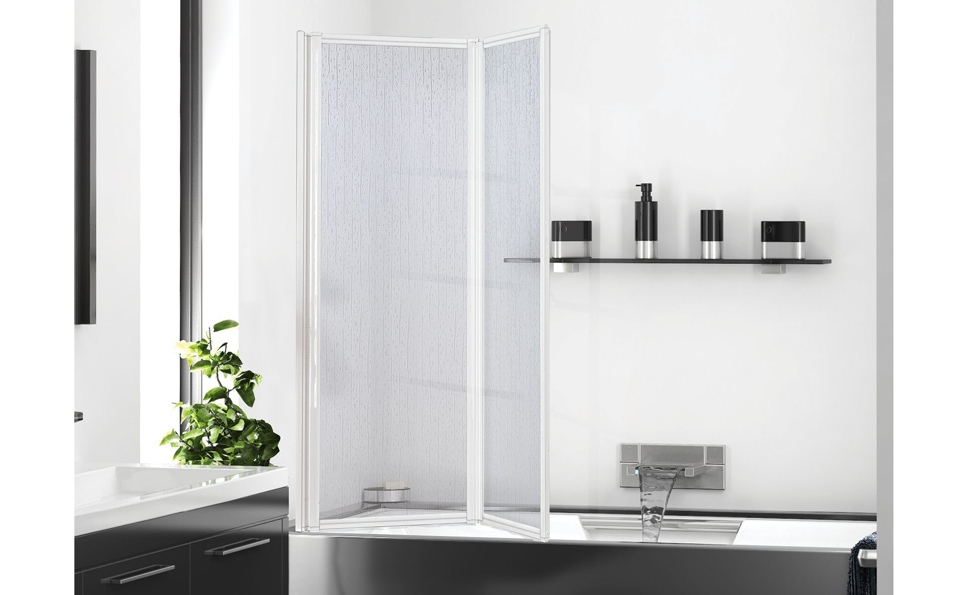 SERIE BOX A PARATIE VASCA VANISHING SHOWER