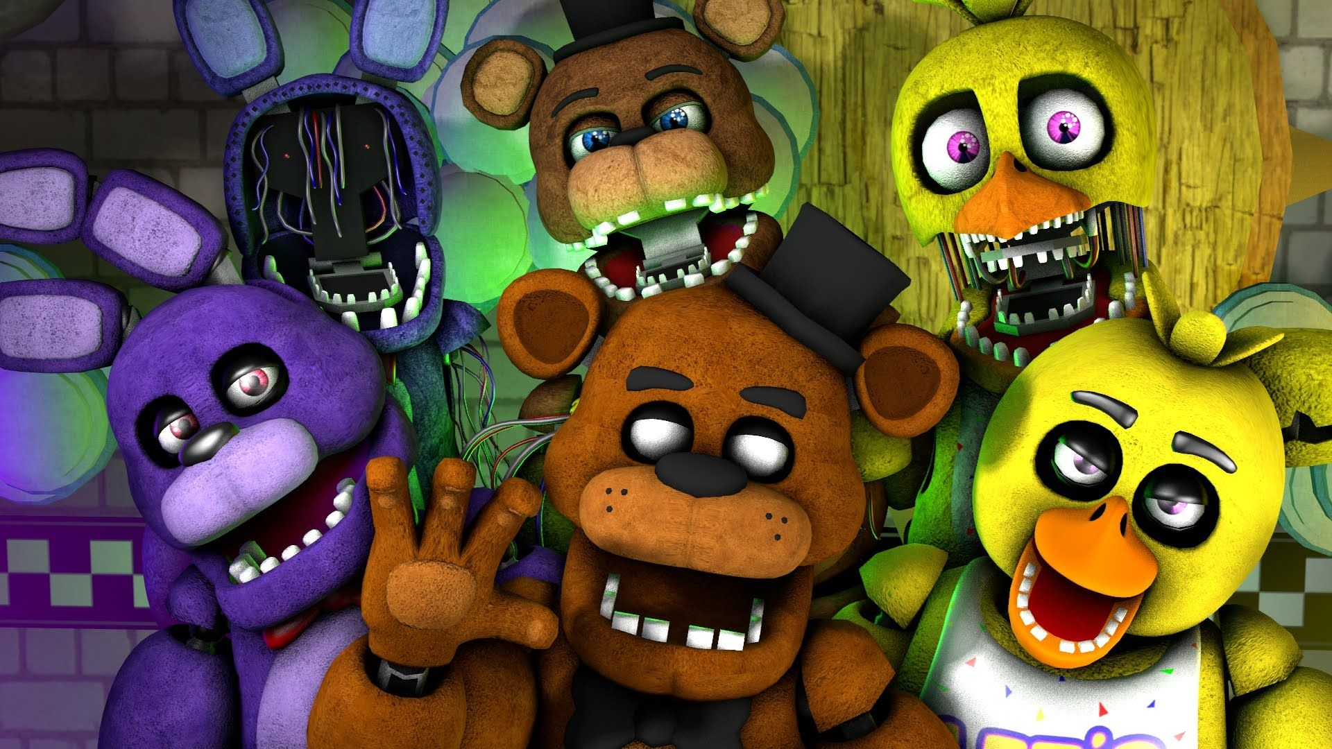 Sfm fnaf 1 4 song the finale natewantstobattle the withereds fnaf publicscrutiny Choice Image