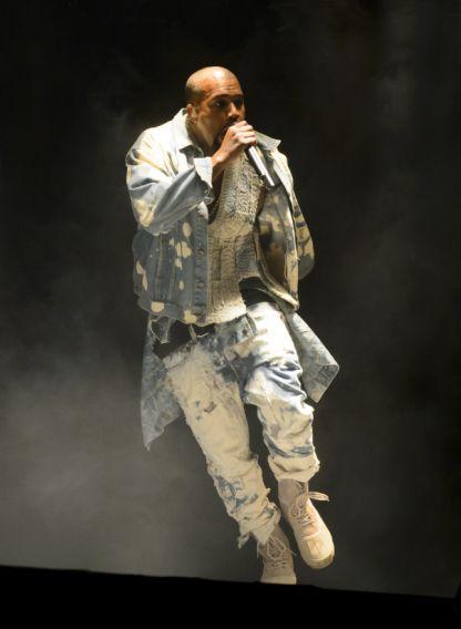 Glastonbury 2015: Kanye West