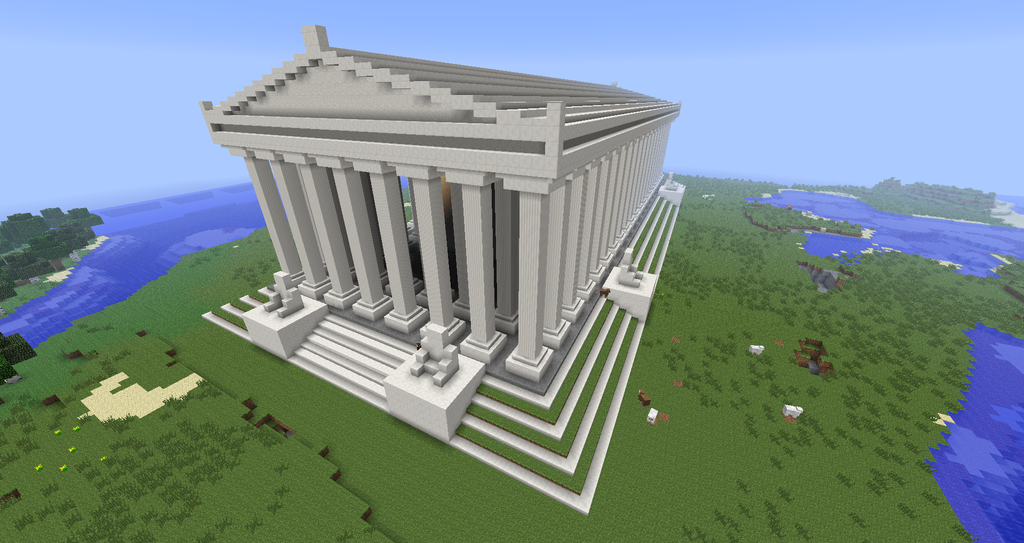 Greek Architecture Minecraft minecraft - temple of artemisminecraftarchitect90 | the seven