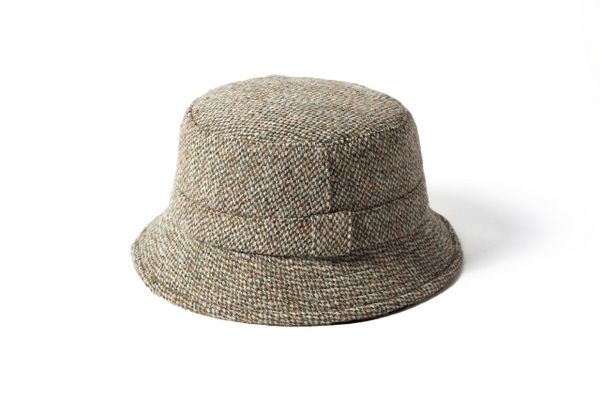 feb92a8a6f6 Failsworth Harris Tweed Wool Fisherman Style Grouse Hat - Light Brown Failsworth  Hats Ltd has been manufacturing ladies hats and men s hats since