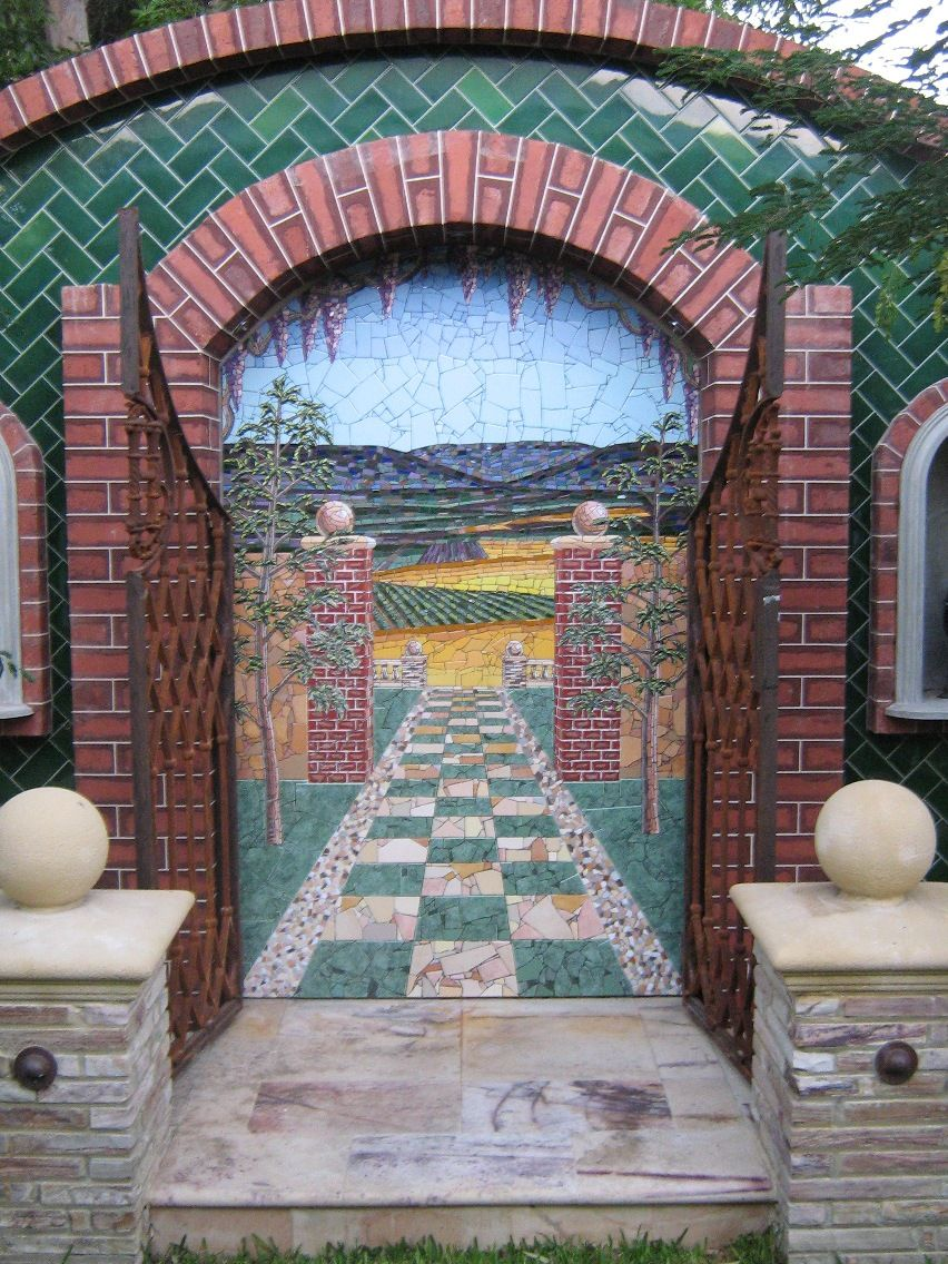 mosaics perth amazing paintings perth water features perth mosaic artist perth mosaics trompe loeil pinterest mosaic wall water features and
