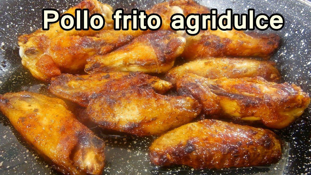 Pollo Frito Agridulce Facil Recetas De Cocina Faciles Rapidas Y  ~ Recetas Cenas Faciles Y Rapidas