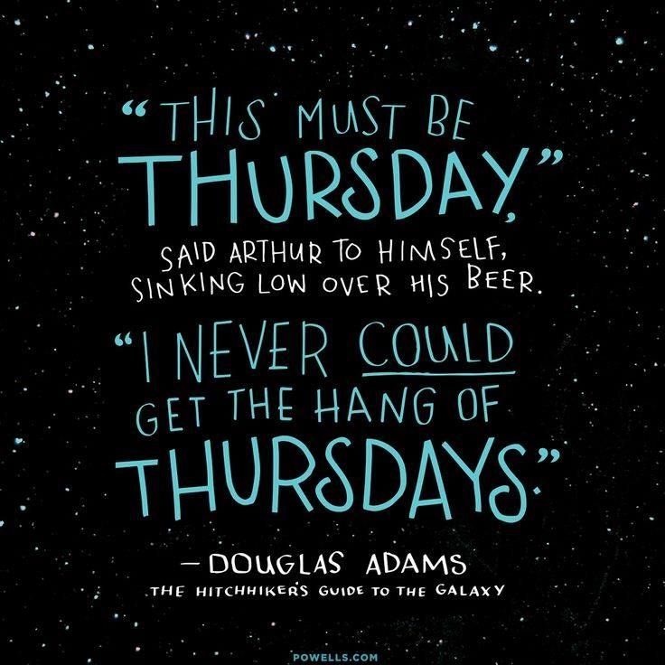 Quotable Douglas Adams Thgttg Zitate Bücher Und Star Wars
