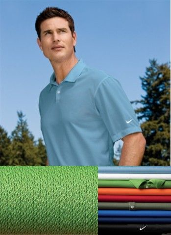 112970af Nike Golf - Dri-FIT Pebble Texture Polo.high-performance moisture wicking  from Dri-FIT fabric in this Nike Golf style.designed to keep you  comfortably dry ...