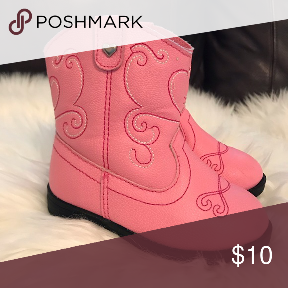 599be1c3a Baby girls pink cowgirl boots These are so adorable and hold up very well!  healthtex Shoes Boots