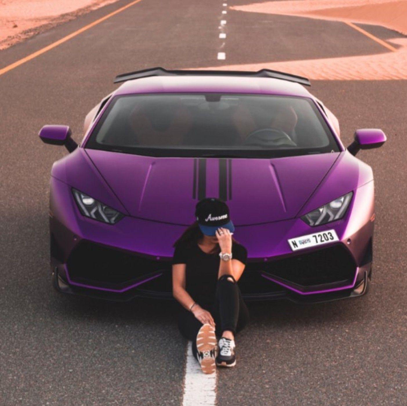 19+ Purple supercar background