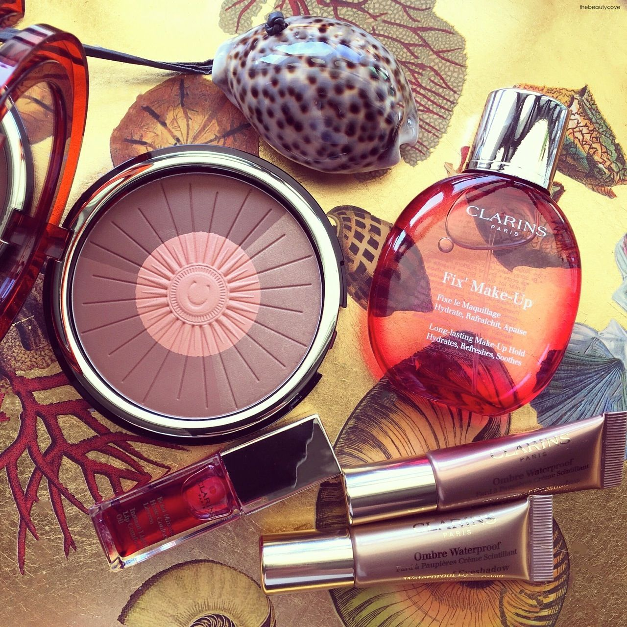 The Beauty Cove: PRIMAVERA ESTATE 2016 • CLARINS MAKEUP • SUNKISSED