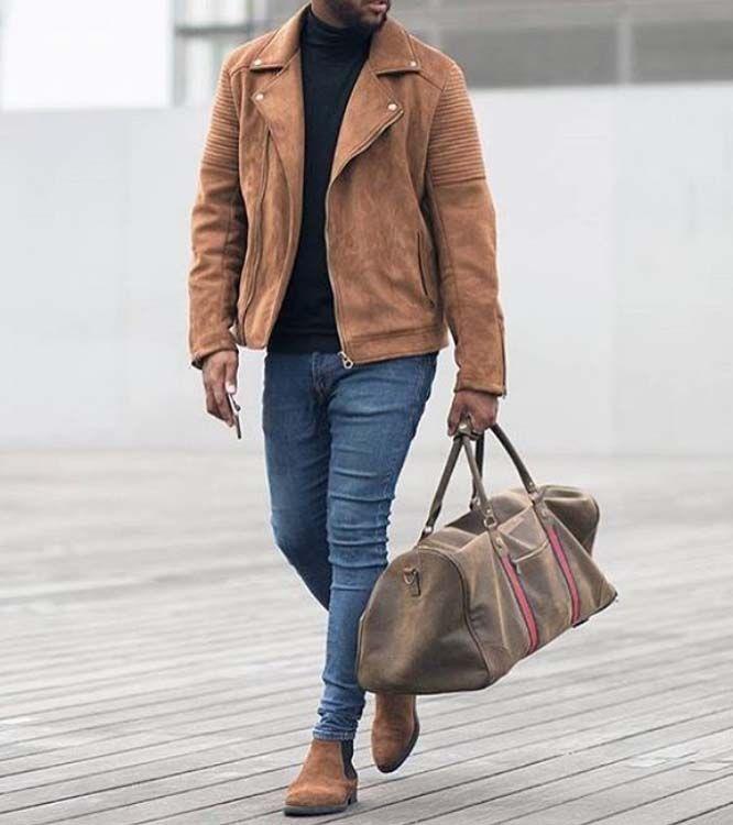 Stylish Urban Men City Style Gym Bag