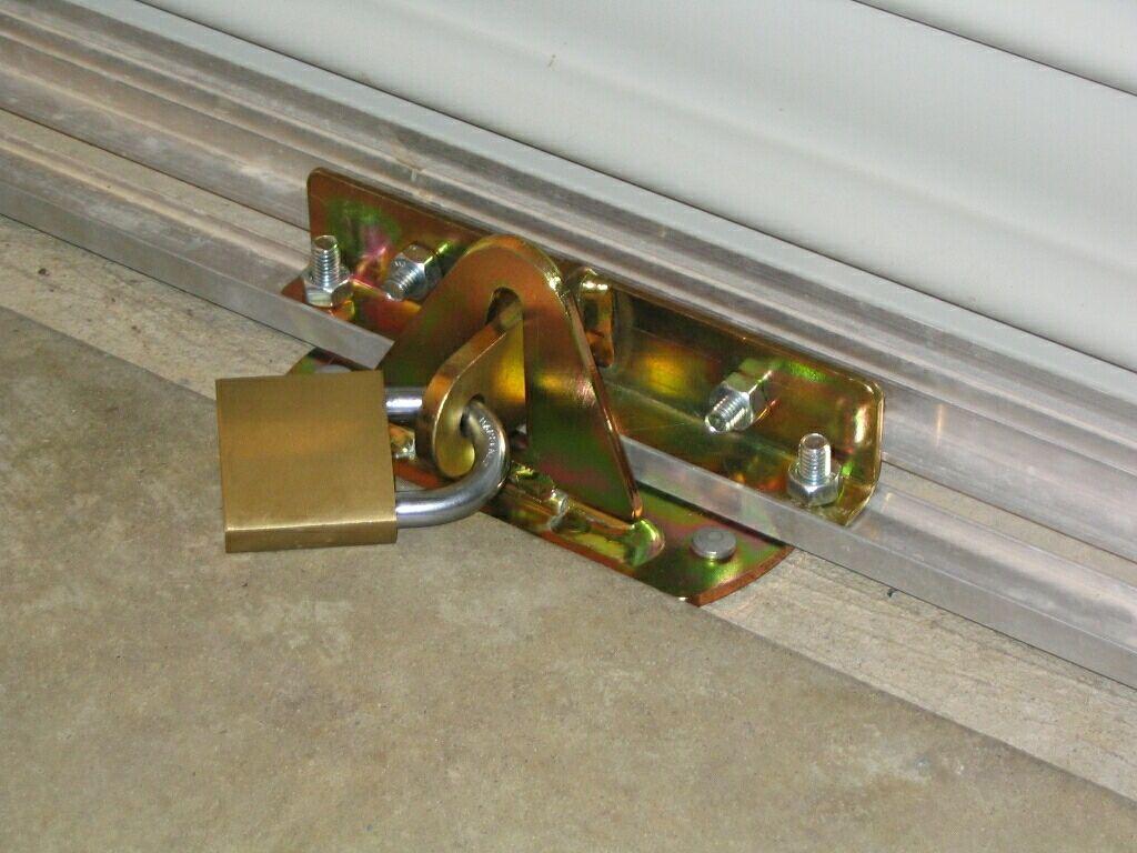 Roller Garage Door Security Locks Sliding patio doors