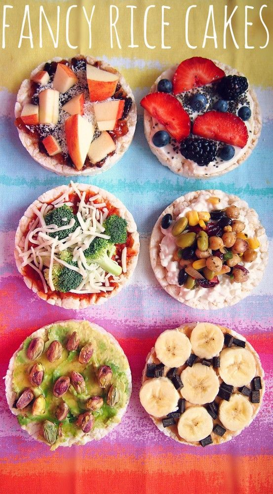 Who enjoys boring rice cakes? Spice up our rice cakes with extra nutrients & flavor!