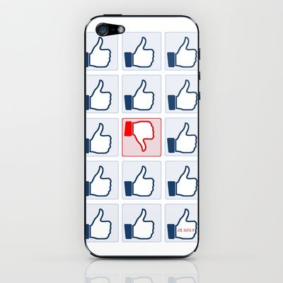 The Like Culture iPhone & iPod Skin by Johannes Beilharz - $15.00
