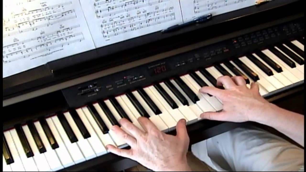 True Colors - Cyndi Lauper - Piano
